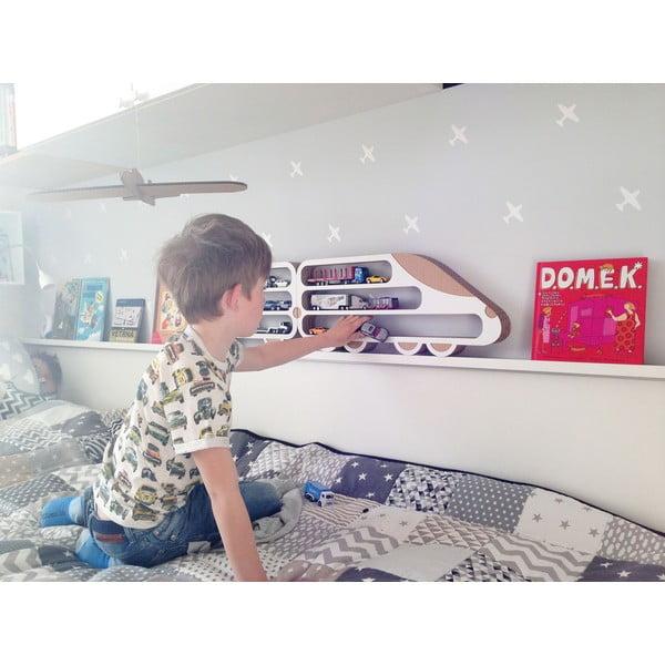 Lokomotiv és 2 mozdony 3 részes polcszett - Unlimited Design for kids