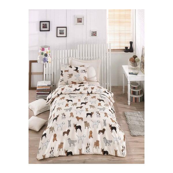 Dogs Pack egyszemélyes ágyneműhuzat garnitúra, 160 x 220 cm