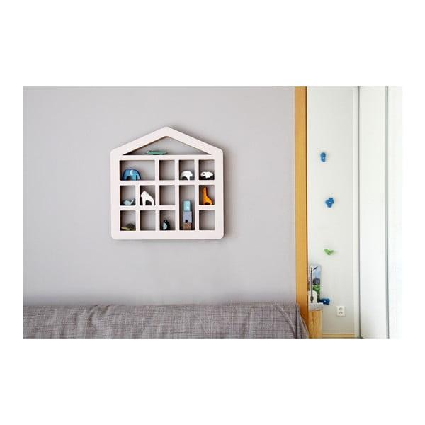 Domek s okny fali polc - Unlimited Design for kids