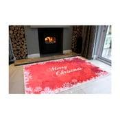Merry Christmas fehér-piros szőnyeg, 50 x 80 cm - Vitaus