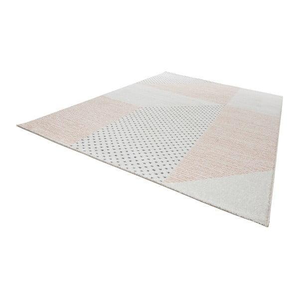 Madison krémszínű-rózsaszín szőnyeg, 160 x 230 cm - Mint Rugs