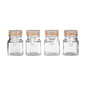 4 db-os üveg fűszertartó készlet, 90 ml - Premier Housewares
