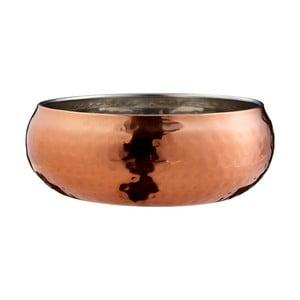 Hammered rózsaarany dekorációs tál, ⌀ 12 cm - Premier Housewares