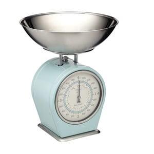 Living Nostalgia kék konyhai mérleg, max. 4 kg - Kitchen Craft