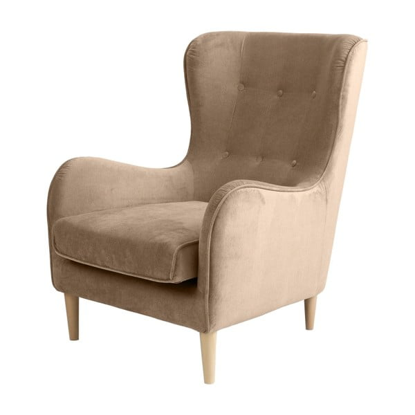 Cozyboy homokbarna fotel - Custom Form