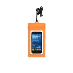Narancssárga vízálló telefontok - Kikkerland