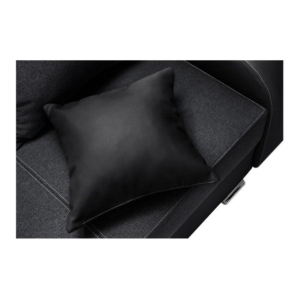 Destin fekete kanapé, jobb oldalas - Interieur De Famille Paris