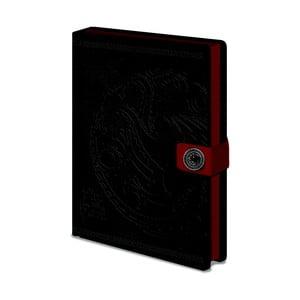 Game Of Thrones: Targaryen jegyzetfüzet, A5, 120 oldal - Pyramid International
