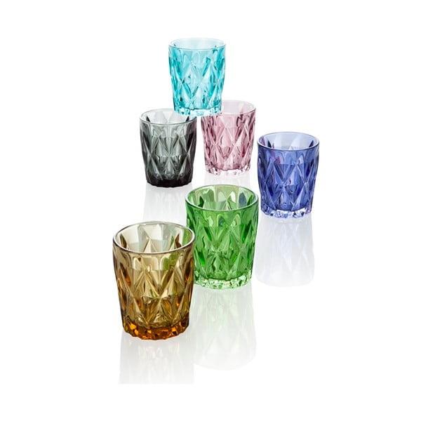 Diamante 6 db-os pohárszett, 270 ml - Brandani