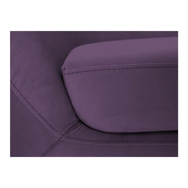 Amelie lila kétszemélyes kanapé - Mazzini Sofas