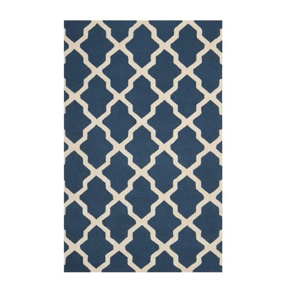 Ava kék szőnyeg, 243x152 cm - Safavieh