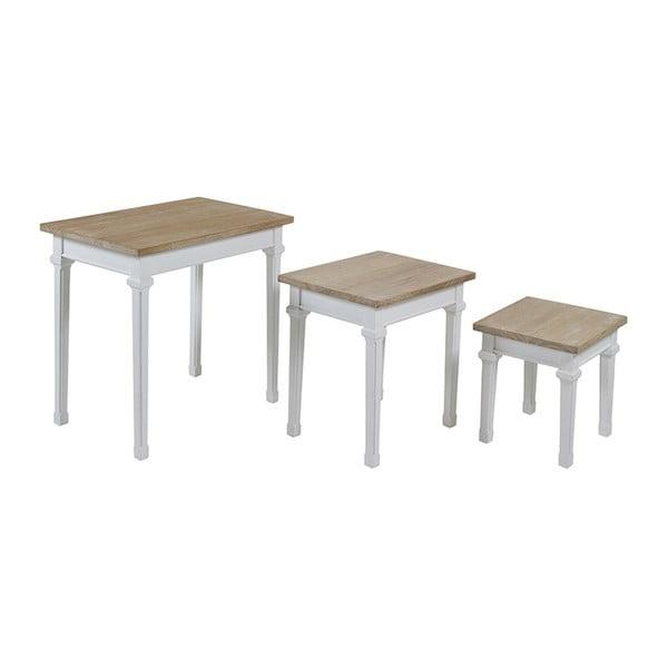 3 darab kisasztal császárfából - Santiago Pons