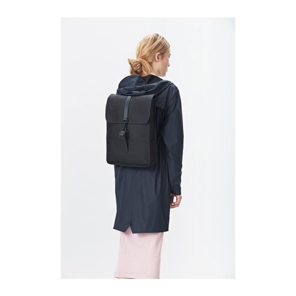 Backpack Mini fekete hátizsák nagy vízállósággal - Rains
