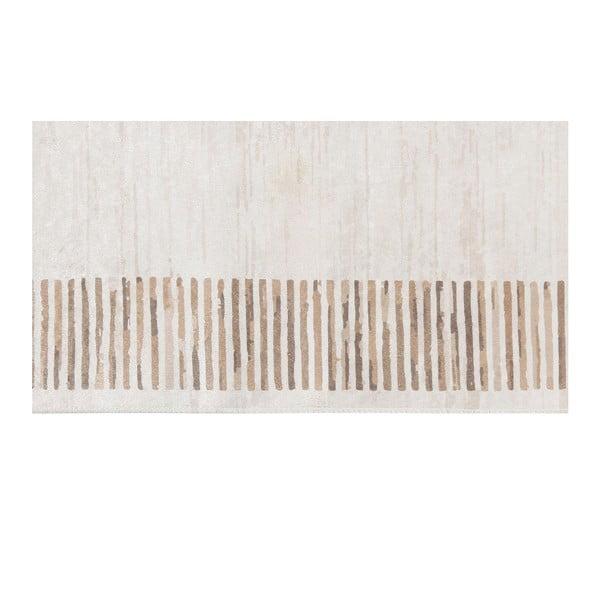 Deri Dijital Brown Framo bársonyszőnyeg, 80 x 300 cm