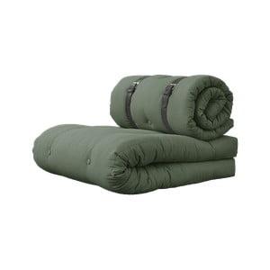 Buckle Up Olive Green zöld kinyitható fotel - Karup Design