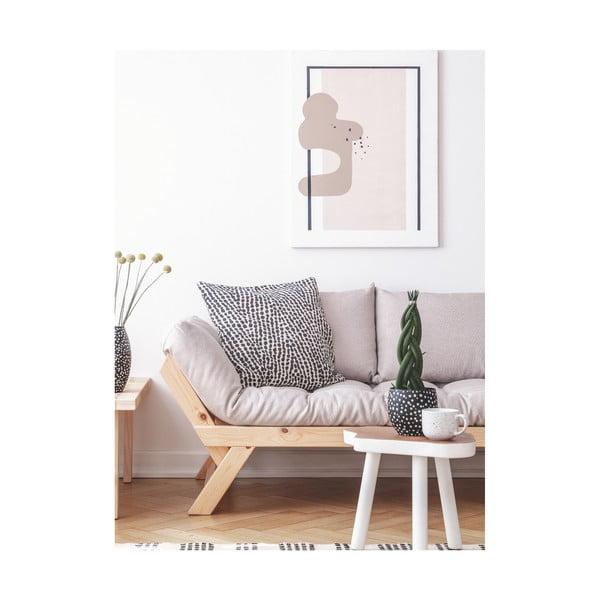 Bebop Natural/Dark Grey kanapé - Karup Design
