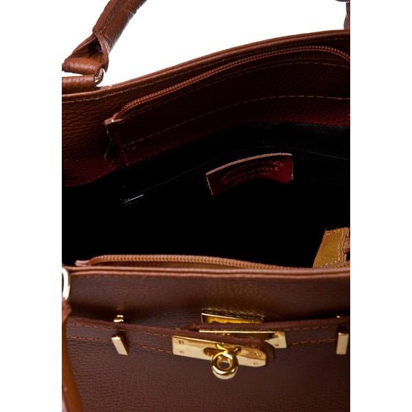 Petronella Cognac konyakbarna kézitáska - Massimo Castelli