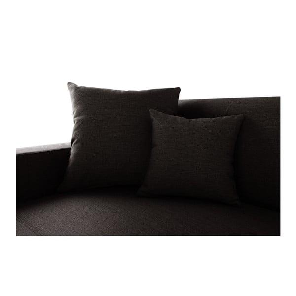 Perle sötétbarna kanapé, bal oldalas - Interieur De Famille Paris