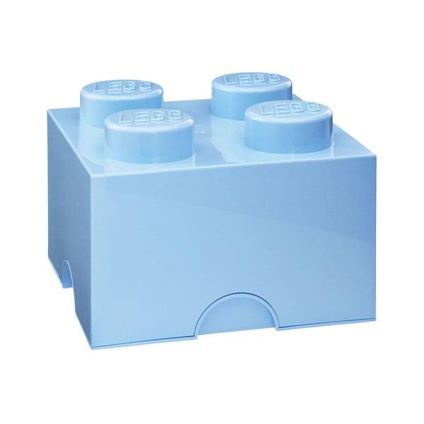 Világoskék tároló doboz 4 - LEGO®