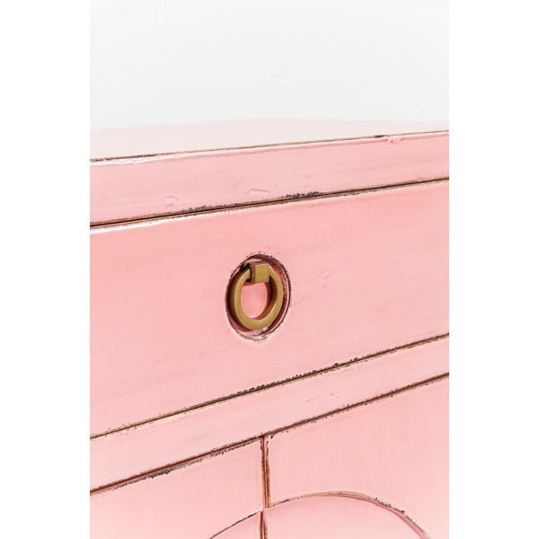 Disk rózsaszín komód - Kare Design