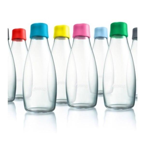Piros üvegpalack élettartam garanciával, 500 ml - ReTap