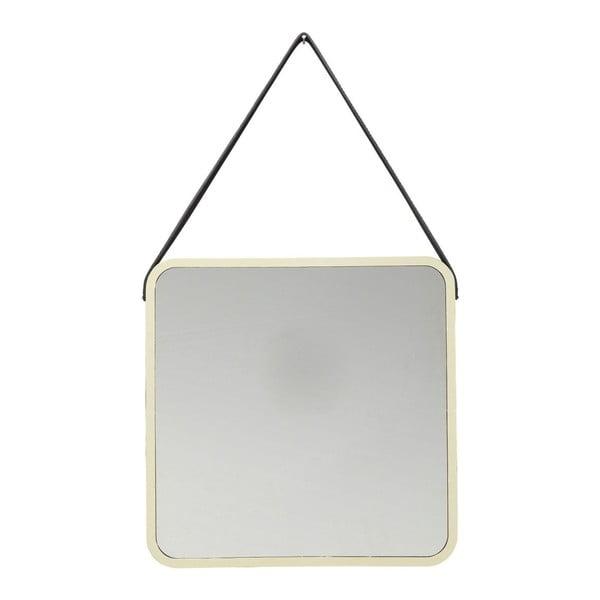 Aloha aranyszínű fali tükör - Kare Design
