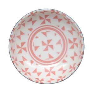 Geo Eclectic rózsaszín tál, 9,5 x 3 cm - Tokyo Design Studio