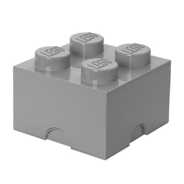 Szürke négyszögletes tároló doboz - LEGO®