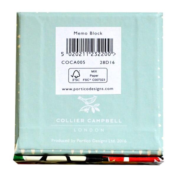 Collier Campbell jegyzettömb dobozban, 80 oldalas - Portico Designs