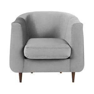 Glam szürke fotel - Kooko Home