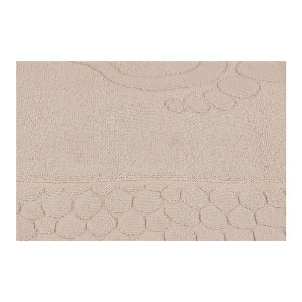 Pastela világosbarna fürdőszobaszőnyeg, 70 x 50 cm