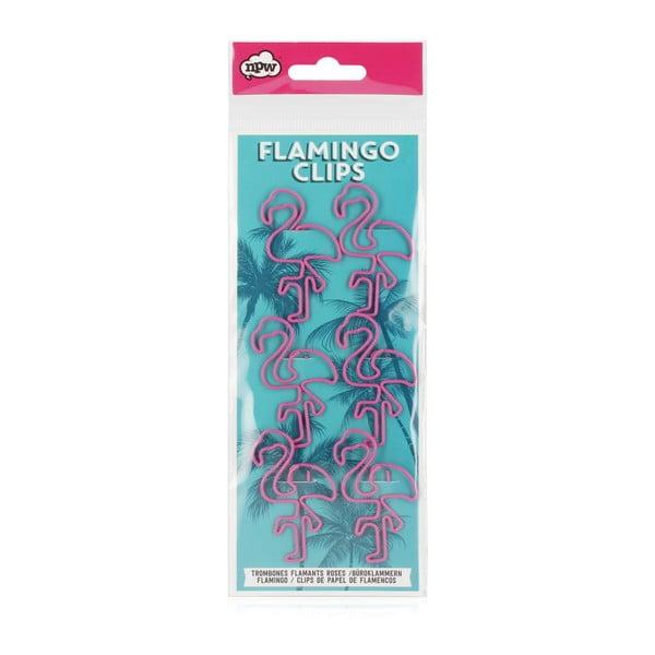 Flamingo Paper Clips 6 db-os gémkapocs készlet - npw™