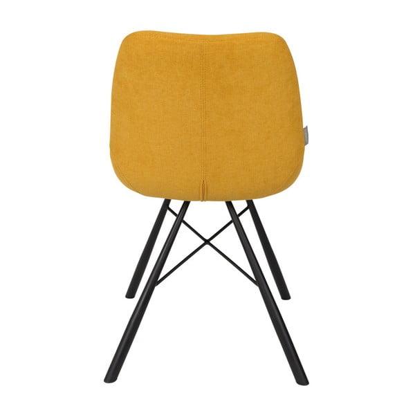 Brent mustársárga szék, 2 db - Zuiver