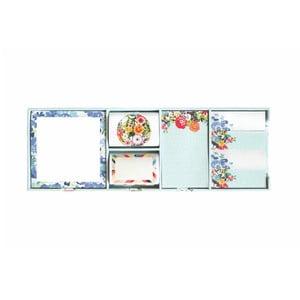 Bleu Floral öntapadó jegyzet szett - Portico Designs