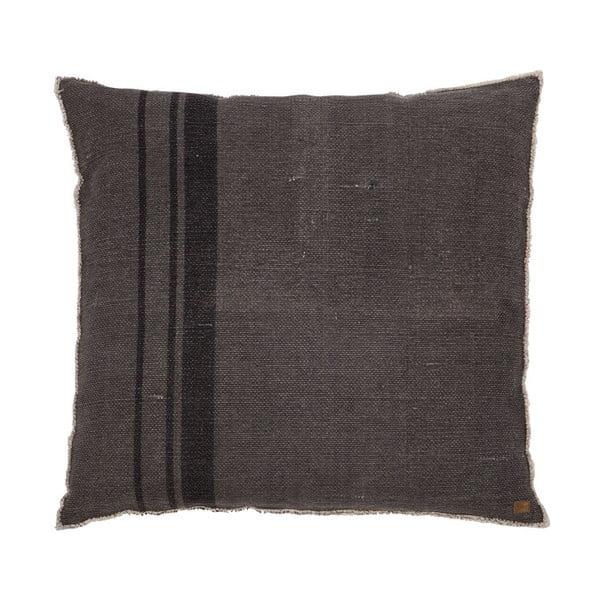 Coarse sötétszürke párna, 100 x 100 cm - BePureHome