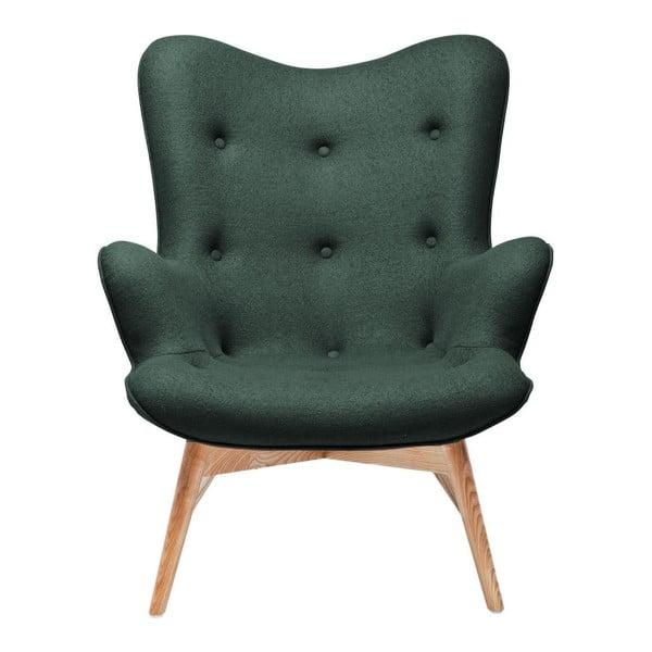 Angels Wings zöld fotel - Kare Design