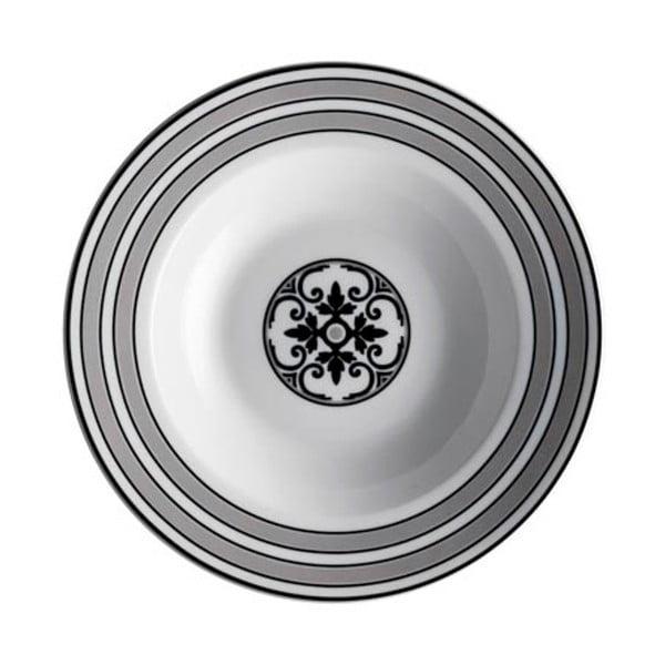 Alhambra 18 részes porclán tányérkészlet - Brandani