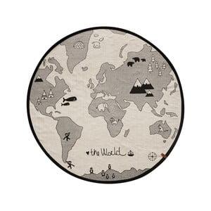 The World pamut szőnyeg, ⌀ 135 cm - OYOY