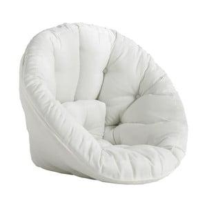 Design OUT™ Nido White kinyitható fehér kültéri fotel - Karup Design