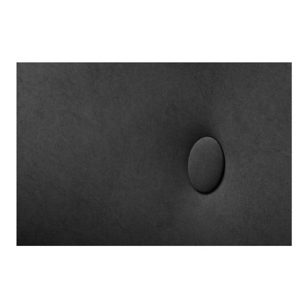 Fekete bal oldali háromszemélyes kanapé - Scandi by Stella Cadente Maison