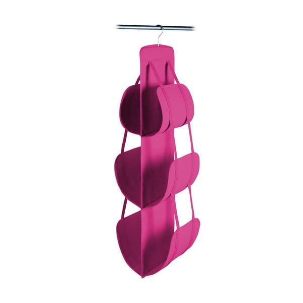 Rózsaszín függő kézitáska tartó, 105 x 30 cm - JOCCA