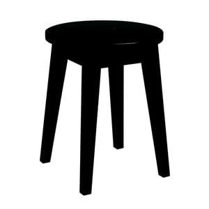 Frigg alacsony fekete tölgyfa ülőke - Folke