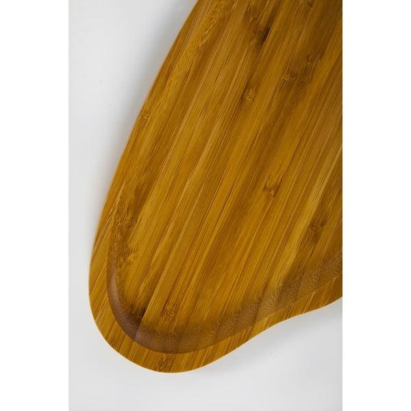 Santos bambusz felszolgáló tálca, 26 x 15 cm - Bambum