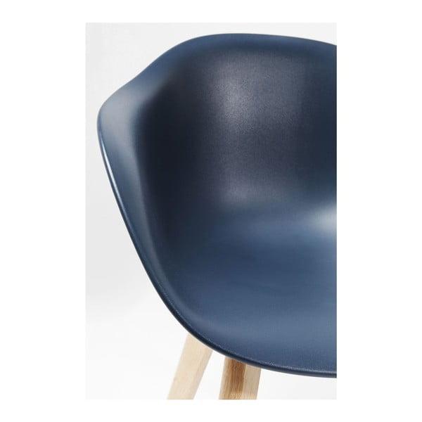 Forum 4 db-os kék székkészlet - Kare Design