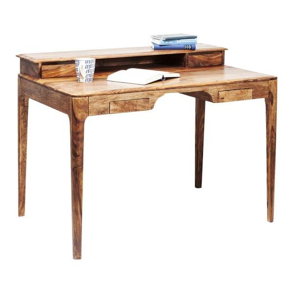 Brooklyn egzotikus fákból készült barna íróasztal - Kare Design