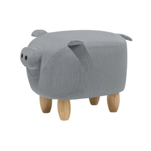 Pig szürke lábtartó, 32 x 50 cm - Monobeli
