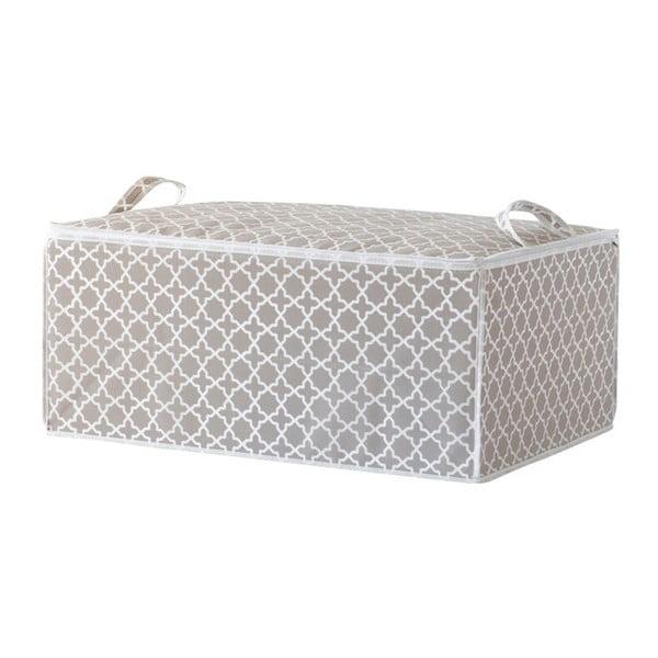 Bézs ágyneműtartó doboz, hossz 70 cm - Compactor