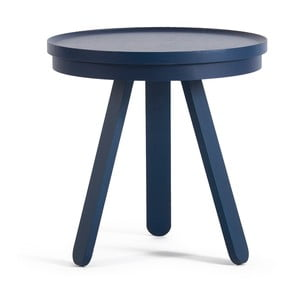 Batea S kék kőrisfa dohányzóasztal tálcával - Woodendot