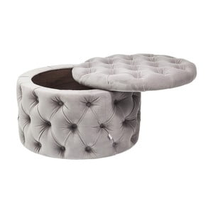 Desire szürke puff - Kare Design