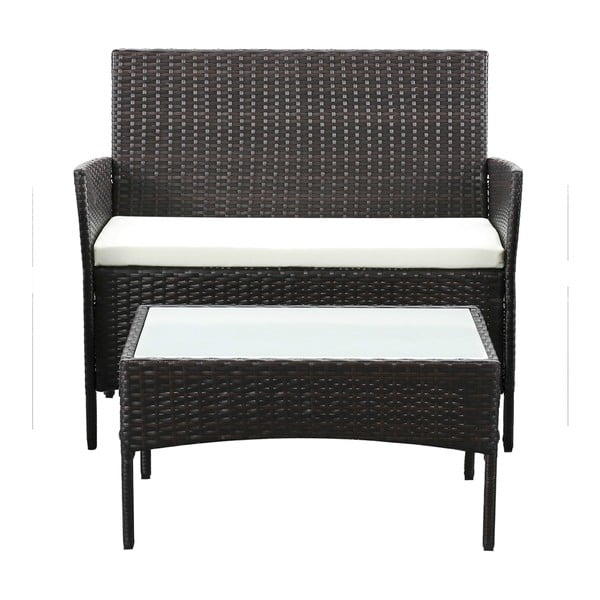 Filia kerti bútor garnitúra, mesterséges rattanból - Timpana